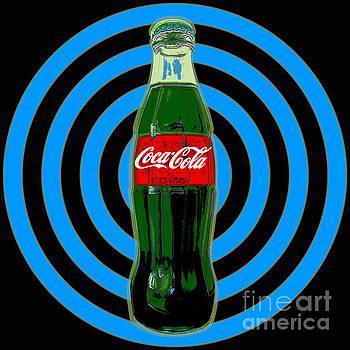 Coca cola Pop Art by Jean luc Comperat