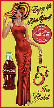 Coca Cola Red by Troy Brown