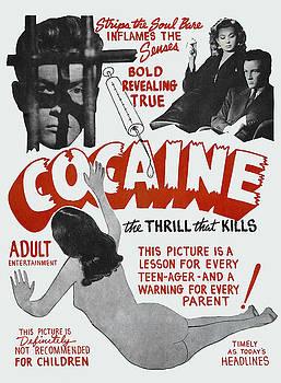 Daniel Hagerman - COCAINE ... the THRILL THAT KILLS LOBBY POSTER 1948