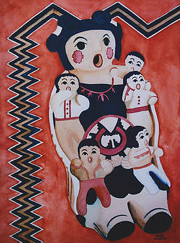 Cochiti Storyteller by Eve Riser Roberts