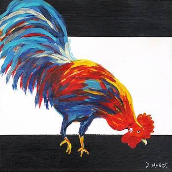 Cock-a-doodle-doo-too by Diane Arlitt