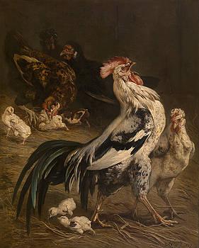 Cock by Charles Verlat