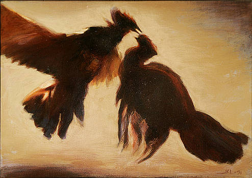 Cock Fight by James LeGros