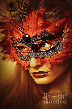 Dimitar Hristov - Cockatoo mask Venetian eye masks