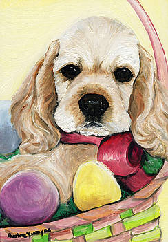 Cocker Spaniel by Charlotte Yealey