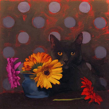Coco and Daisies by Diane Hoeptner