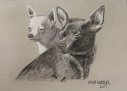 Coco and Rudy by Larry Whitler
