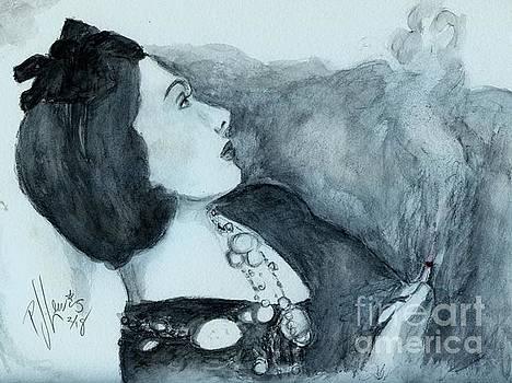 Coco Smoking by PJ Lewis