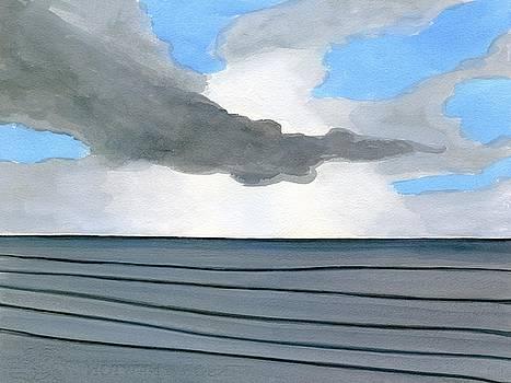 Cocoa Beach Sunrise 2016 by Dick Sauer