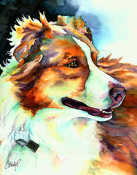 Christy  Freeman - Cocoa Lassie Collie Dog
