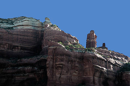 Coconino National Forest Rock Formations by Frank Feliciano