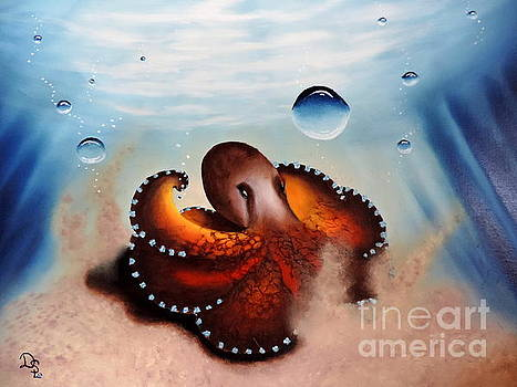 Coconut Octopus by Dianna Lewis