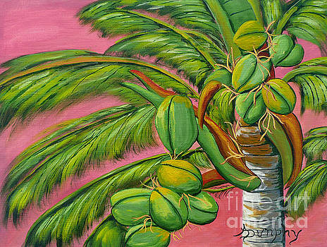 Coconut Palm by Anthony Dunphy