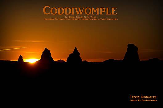 Coddiwomple Trona Pinnacles by Guy Hoffman