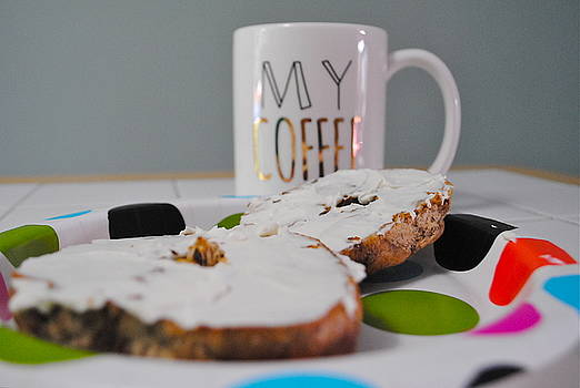 Coffee and Bagels by Amanda Letcavage