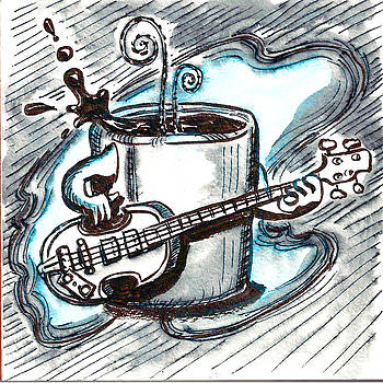 Coffee and Bass Jams by Ray Hofstedt