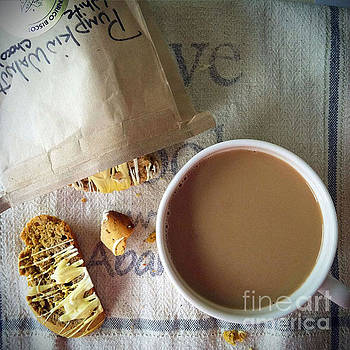 Coffee and Biscotti by Maureen Cavanaugh Berry