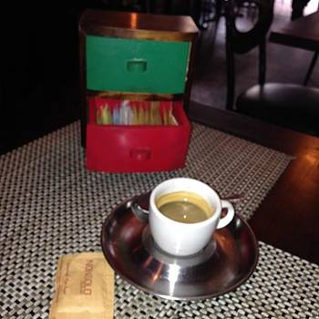 Coffee And Sugar In A Drawer, Nice by Francisco Colon