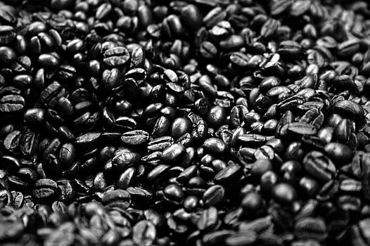Balanced Art - Coffee Beans BW
