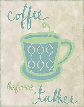 Coffee before talk by Marilu Windvand