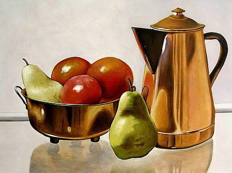 Coffee break by Martin Davis