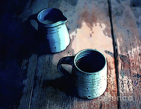 Coffee Cup Still Life by Phil Perkins