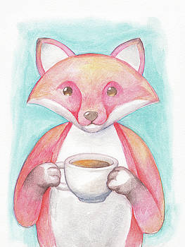 Coffee Fox by Dream Pigment