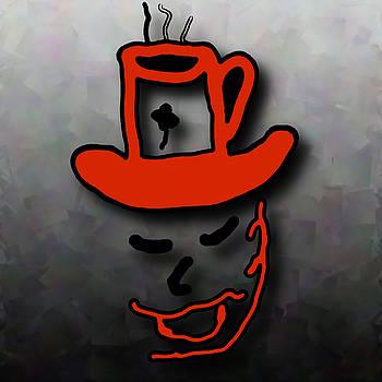 Coffee Hat Man by Philip A Swiderski Jr