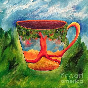 Coffee in the Park by Elizabeth Fontaine-Barr