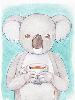 Coffee Koala  by Dream Pigment