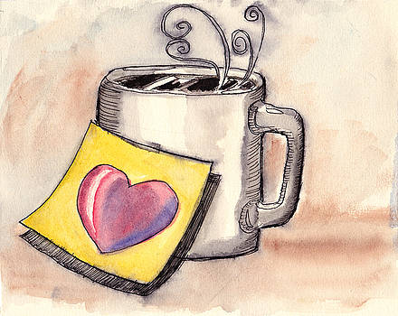 Coffee Love by Ray Hofstedt