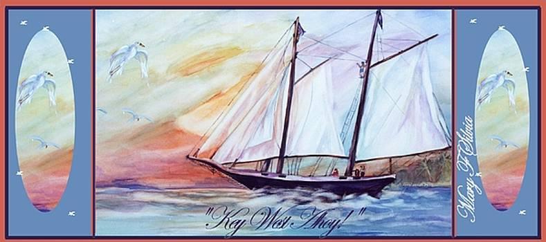 COFFEE MUG Key West Ahoy by Mary Silvia