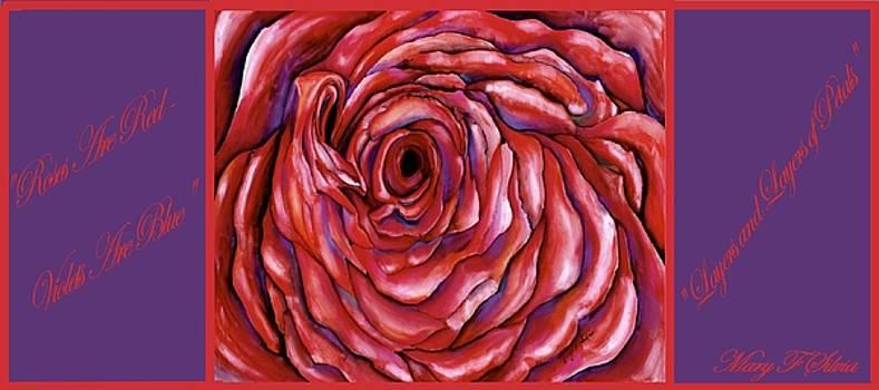 COFFEE MUG Layers and Layers of Petals by Mary Silvia