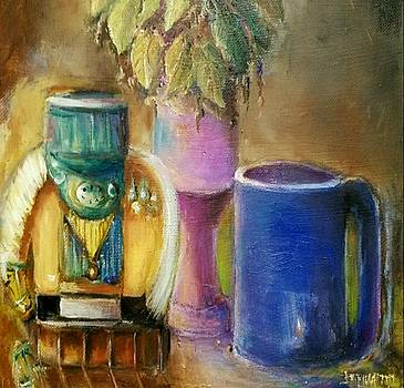 Coffee Time - Still Life by Bernadette Krupa