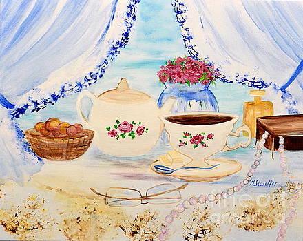 Coffee with grandma by Mariana Stauffer