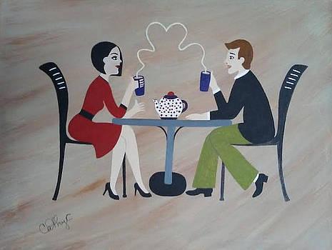 Coffee with Pleasure  by Catherine Velardo