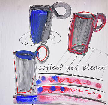 Coffee.....  yes, please by Amara Dacer