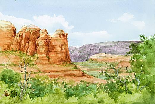 Coffeepot Rock Sedona by Ray Cole