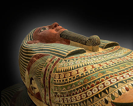 Coffin of Amunred by Gary Warnimont