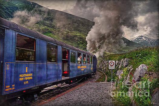 Cogwheel Steam Railway by Hanny Heim