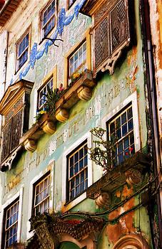Coimbra Facade Portugal by Sonia Stewart