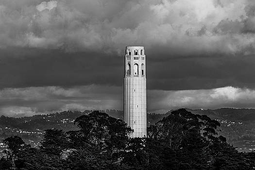 Coit Tower by Daniel Danzig