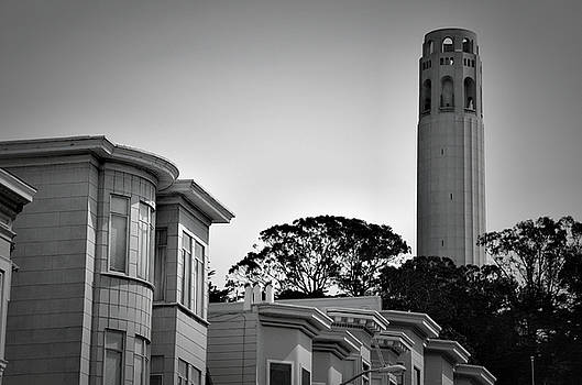 Coit Tower by Spencer Hughes