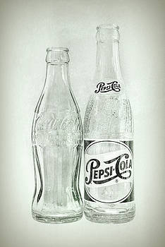 Terry DeLuco - Coke or Pepsi Black and White