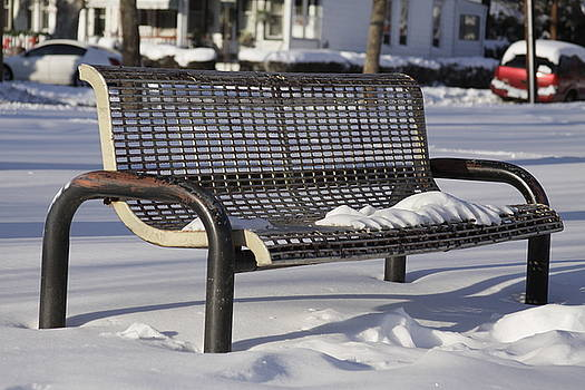 Cold Bench by Bessie Reyes