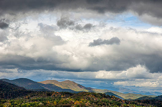 Cold Front over Highlands by Allen Carroll