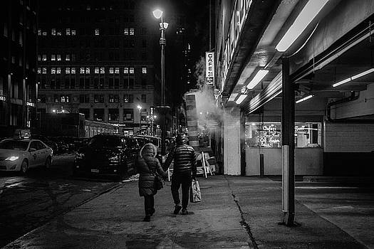 Cold Night in The City by Bautista NY