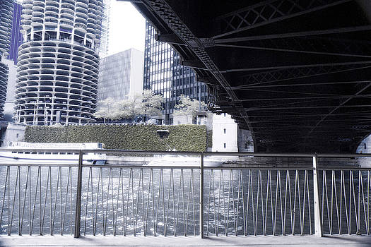 Cold River and Bridge - 200400 by TNT Images