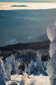 Cold Smoke and Snow Ghosts #3 by Sam Egan