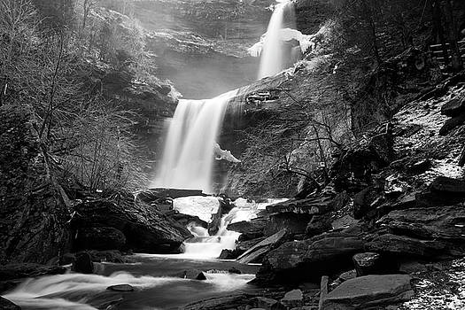 Cold Spring Morning at Kaaterskill Falls II by Jeff Severson